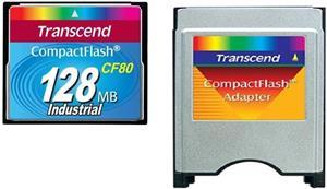 Transcend CF 128MB + adaptér