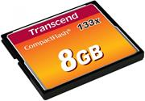 Transcend CF, 8GB, 133x