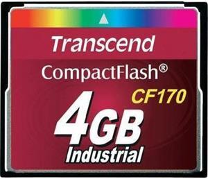 Transcend Industrial CF170 4GB