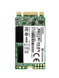TRANSCEND MTS430 256GB SSD disk M.2, 2242 SATA III 6Gb/s (3D TLC), 550MB/s R, 480MB/s W