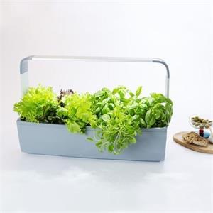 TREGREN T12 Kitchen Garden, chytrý kvetináč, sivý