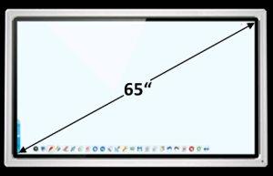 "TRIUMPH BOARD 65"" MULTI Touch LED LCD"