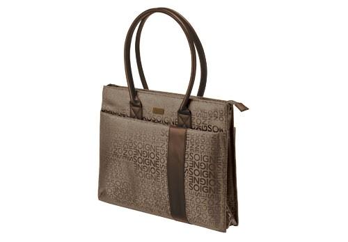 a2b737f360 TRUST Notebook Carry Bag - Brown - Rome - 16