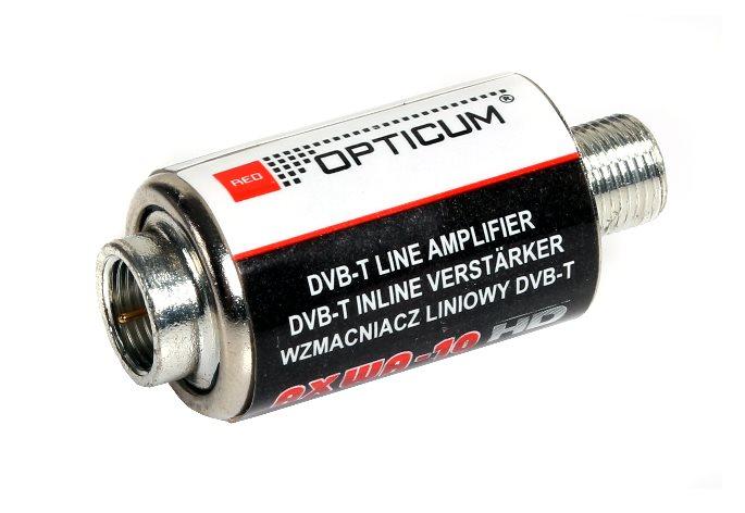 """TV linkový zosilňovač OPTICUM AX WA-10 VHF/UHF, 20dB/5-12V """"F"""""""