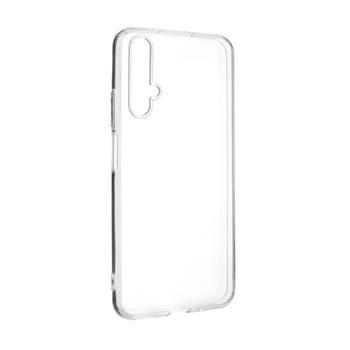 Ultratenké TPU gélové puzdro FIXED Skin pre Honor 20/Huawei nova 5T, 0,6 mm, číre