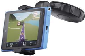 Univerzálny držiak s prísavkou CellularLine Crab Disk pre mobilné telefóny a smartphony, flexibilné rameno