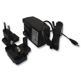 USB adaptér pre Raspberry Pi 5,1V 2,5A čierny