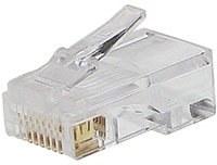 UTP sieťová koncovka, Cat5, RJ45, drôt