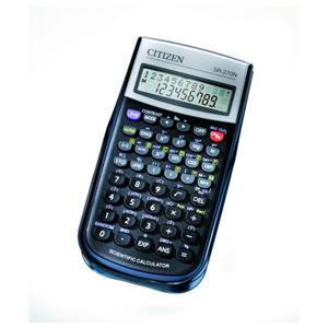 Vedecká kalkulačka CITIZEN SR-270N, 236 funkcií, čierna