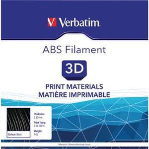 Verbatim 3D filament, ABS, 2,85mm, 1000g, 55018, čierna