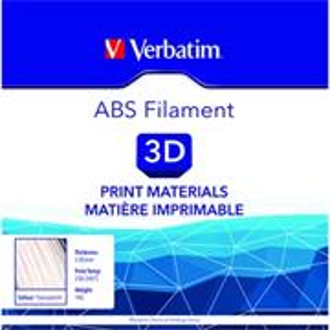 Verbatim 3D filament, ABS, 2,85mm, 1000g, 55019, transparentná