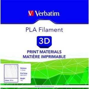 Verbatim 3D filament, PLA, 1,75mm, 1000g, 55268, biela