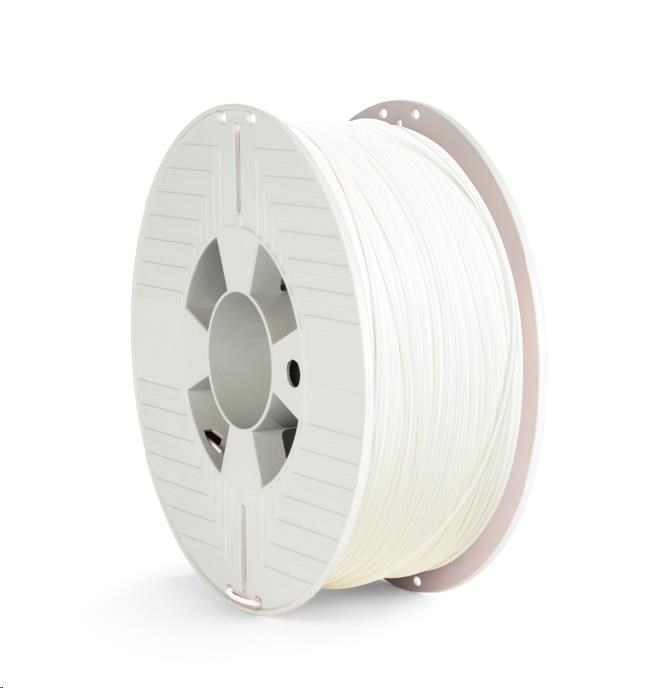 VERBATIM 3D Printer Filament PET-G 1.75mm, 327m, 1kg white