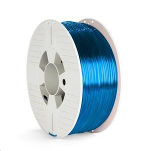 VERBATIM 3D Printer Filament PET-G 2.85mm, 123m, 1kg transparentná modrá