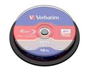 VERBATIM BD-RE SL(10-pack)Blu-Ray/spindle/2x/25GB