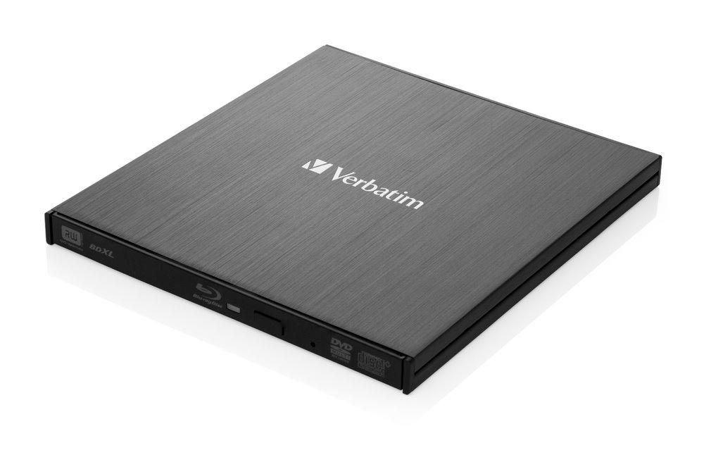 Verbatim Blu-Ray externá napalovačka, čierna