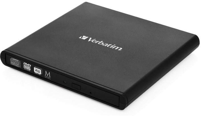Verbatim CD/DVD externá napaľovačka, čierna