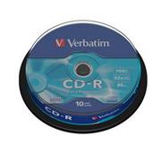 Verbatim CD-R 10 pack 52x/700MB/Extra Protection