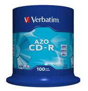 Verbatim CD-R 100 pack 52x/700MB/AZO Crystal