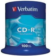 Verbatim CD-R 100 pack 52x/700MB/Extra Protection