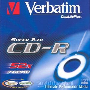 Verbatim CD-R 50 pack 52x/700MB/AZO Crystal