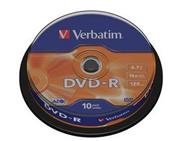 Verbatim DVD-R 10 pack 16x/4.7GB