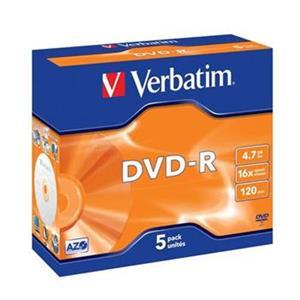 Verbatim DVD-R 16x/4.7GB/Jewel
