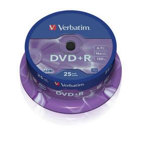Verbatim DVD+R 25 pack 16x/4.7GB