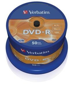 Verbatim DVD-R 50 pack 16x/4.7GB