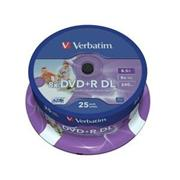 Verbatim DVD+R DL 25 pack 8x/8,5GB/Printable
