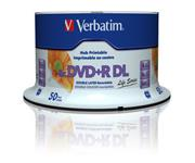 VERBATIM DVD+R DL (8xPrintable, 8,5GB), 50 cake