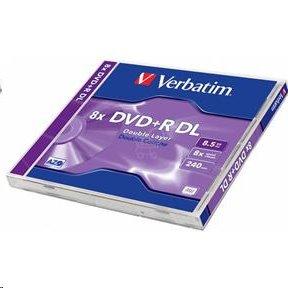 VERBATIM DVD+R DL /Jewel/8x/8,5GB