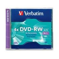 Verbatim DVD-RW 4x/4.7GB/Jewel 1ks