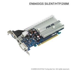 VGA ASUS GeForce 8400GS Silent HTP 256MB DDR2 PASSIVE (PCIe)