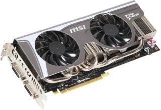 VGA MSI Geforce 570 GTX N570GTX Twin Frozr II/OC 1280MB DDR5 (PCIe)