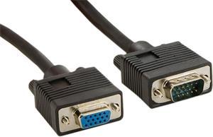 VGA-VGA kábel 15M/15F, 1.8m, predlžovací