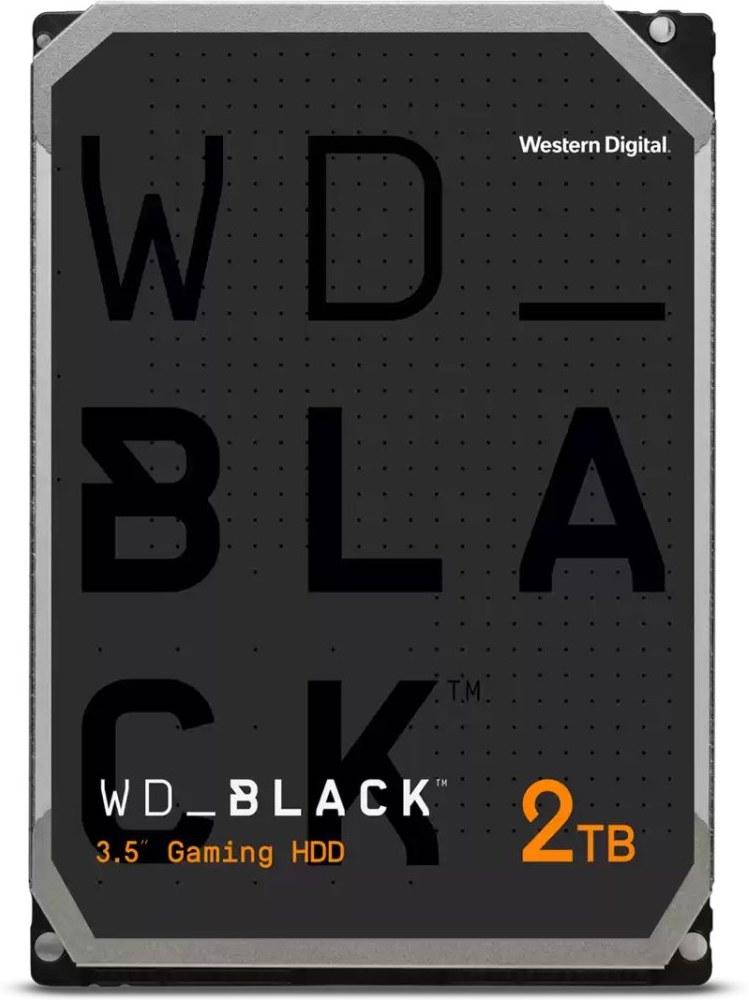 "WD Black 3,5"", 2TB, 7200RPM, 64MB cache"