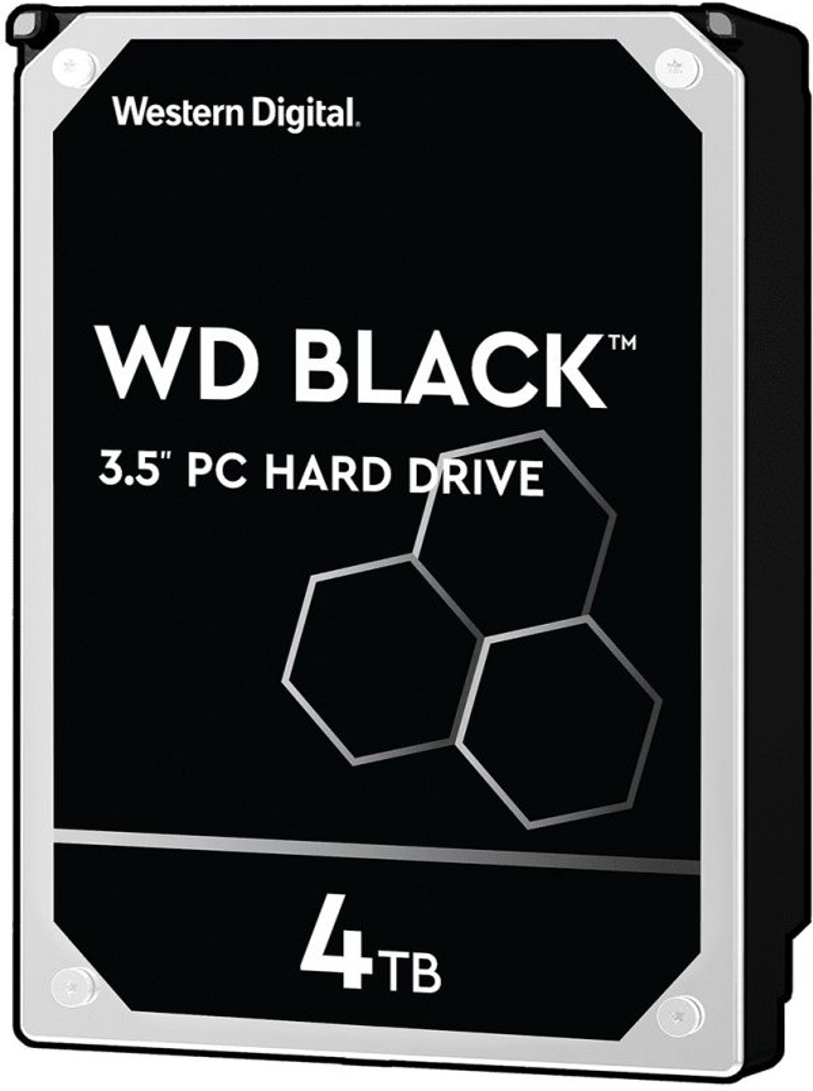 "WD Black 3,5"", 4TB, 7200RPM, 256MB cache"