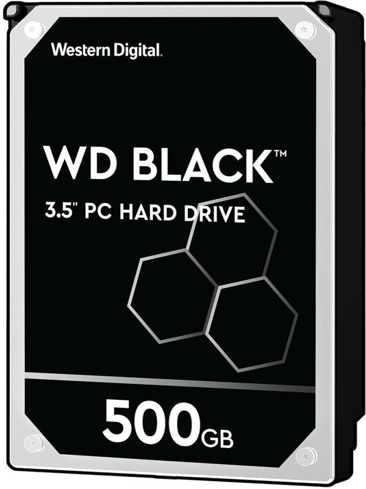 "WD Black 3,5"", 500GB, 7200RPM, 64MB cache"