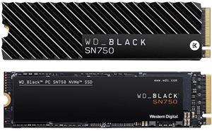 WD Black SN750 NVMe SSD, 250 GB