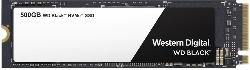 WD Black SSD, M.2, 500GB