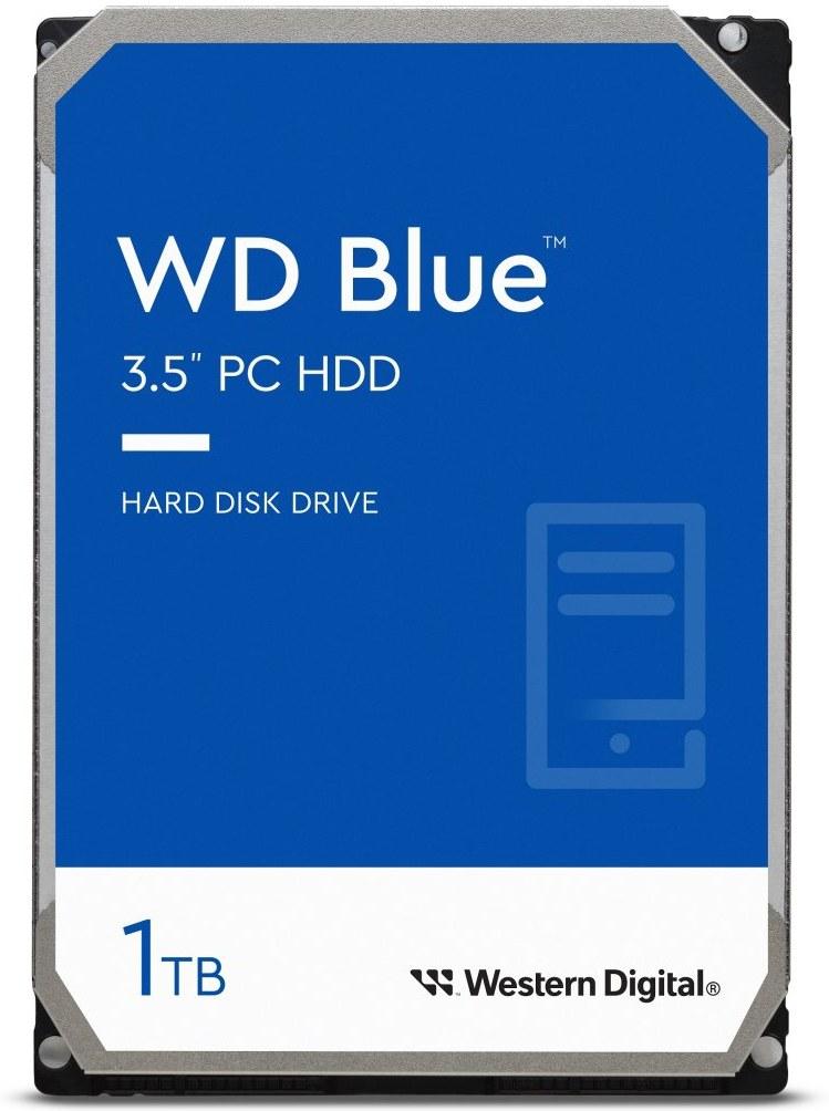"WD Blue 3,5"", 1TB, 5400RPM, 64MB cache"