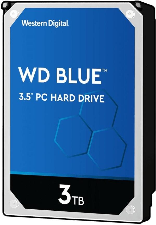 "WD Blue 3,5"", 3TB, 5400RPM, 64MB cache"
