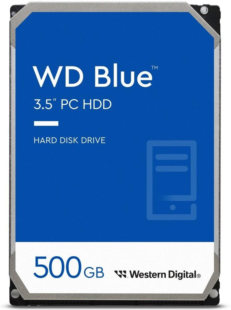 "WD Blue 3,5"", 500GB, 5400RPM, 64MB cache"