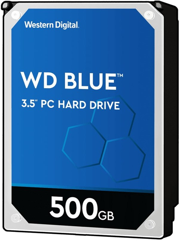 "WD Blue 3,5"", 500GB, 7200RPM, 32MB cache"
