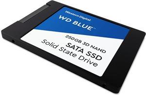 WD Blue SSD 2.5'' 250GB, 3D NAND