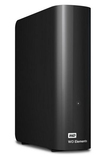 WD Elements Desktop 2TB, čierny