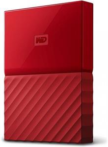 WD My Passport 1TB, červený