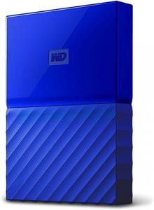WD My Passport 1TB, modrý