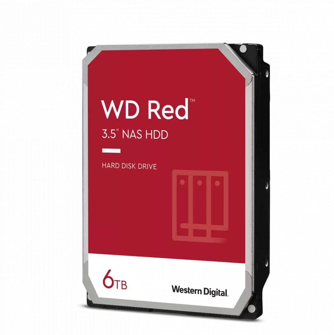 """WD Red 3,5"""", 6TB, 5400RPM, 256MB cache"""